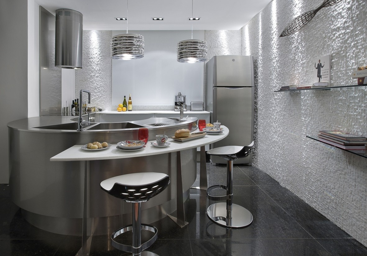 Cozinha Ou Espa O Gourmet Espa O Do Arquiteto Mosaicos De